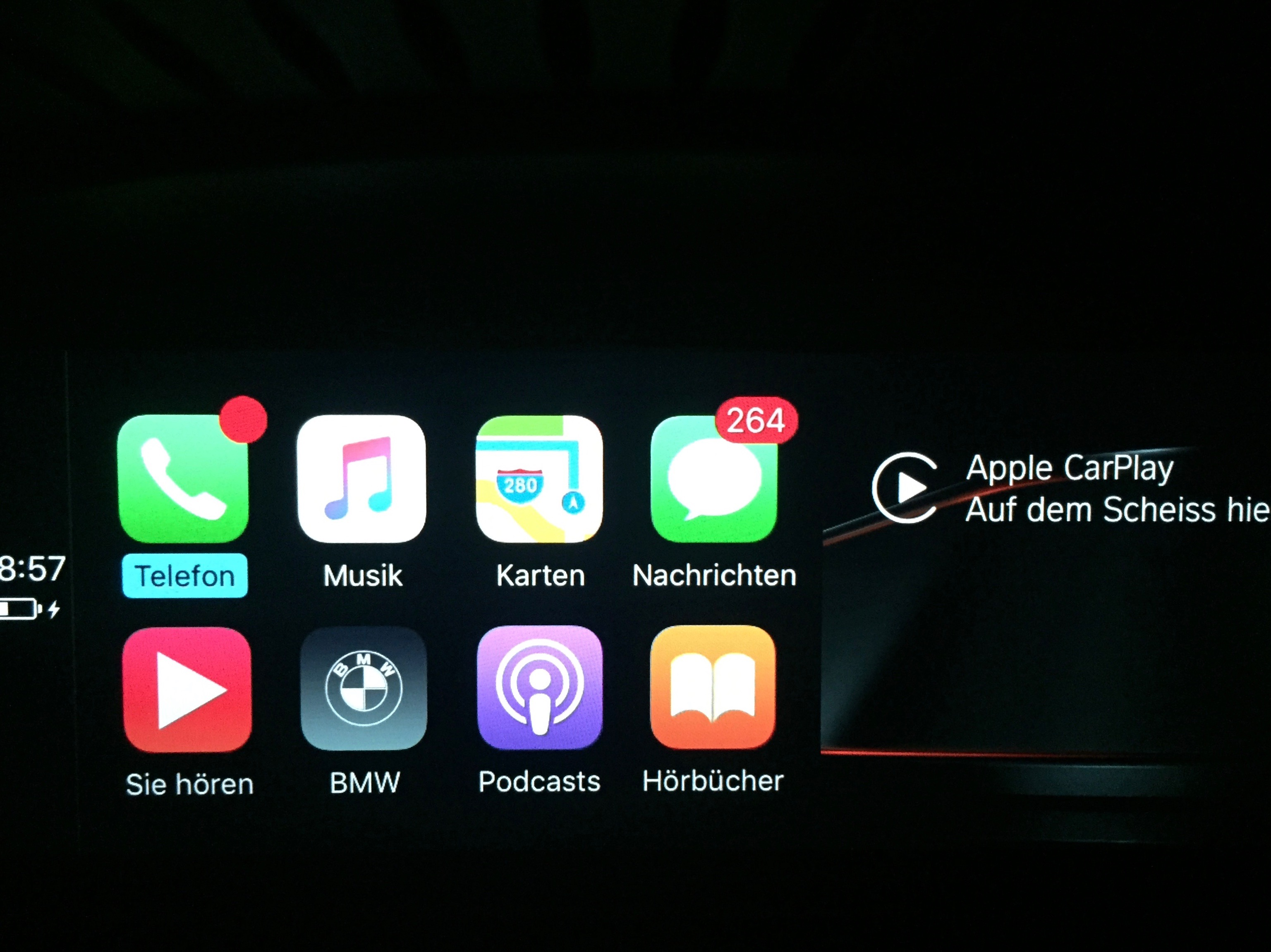 CARPLAY APPLE BMW CONNECTED